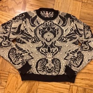 Sweewe Paris Texture Sweater Size S/M
